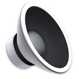 macOSのシステムに利用されているスピーカーアイコン