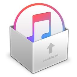 iTunes 12のインストーラーパッケージアイコン。