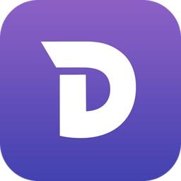 iOS用ドキュメントビューアアプリ「Dash for iOS」のアイコン。