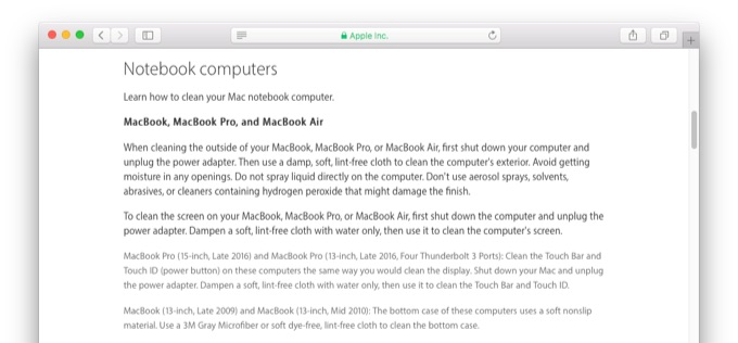 how-to-clean-touch-bar-and-touch-id