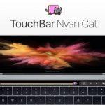 MacBook ProのTouch Bar上に猫キャラ「Nyan Cat」を走らせるだけのアプリ「Touchbar Nyancat」が公開。