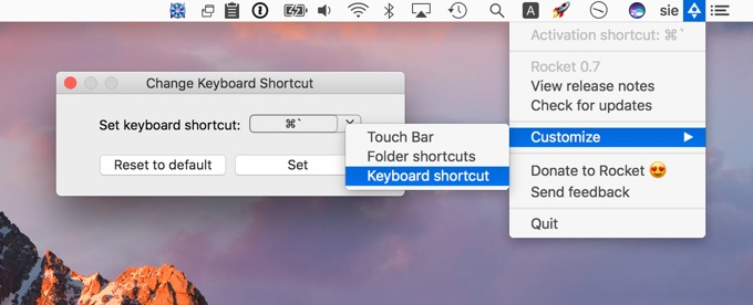 keyboard-shortcut-call-rocket