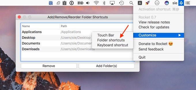 rocket-app-folder-shortcut