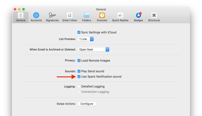 use-spark-notificaton-sound-option