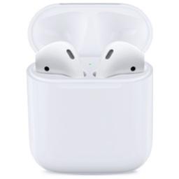 Appleの左右独立Bluetoothイヤホン「AirPods」のアイコン。