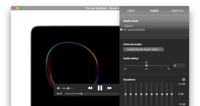 mpvプレイヤーをベースに、Touch BarなどMac独自の機能もサポートした多