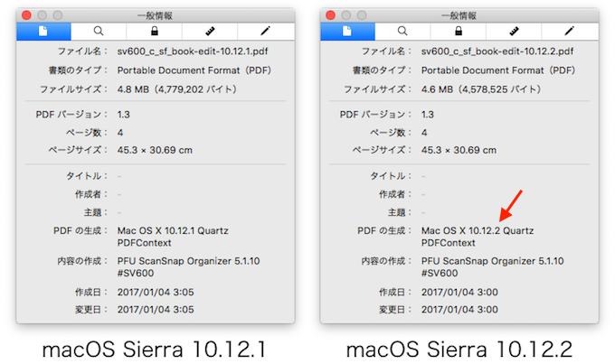 macOS Sierra 10 12 2のプレビューアプリによりScanSnapなどの