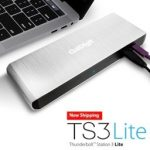 CalDigit、USBやDisplayPort, Gigabit Ethernetポートなどを搭載したThunderbolt 3対応Dock「TS3 Lite」の販売を開始。