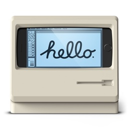 Elago Classic Macを模したデザインのiphone用スタンド M4 Stand For Iphone を発売 pl Ch
