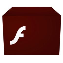 Adobe Flash Playerインストーラー for Macのアイコン