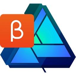 Affinity Designer for MacのBeta版アイコン。