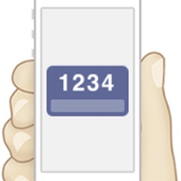 Appleの2ファクタ認証のアイコン。