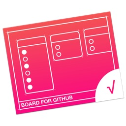 GitHub用プロジェクトビュワー「Board For GitHub」のアイコン。