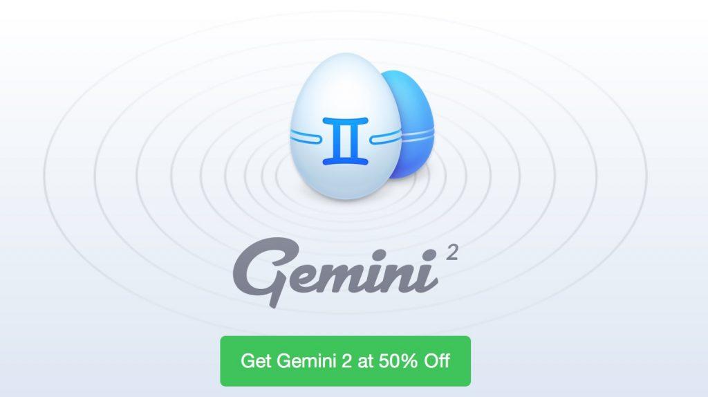 Gemini 2の50%OFFセール。