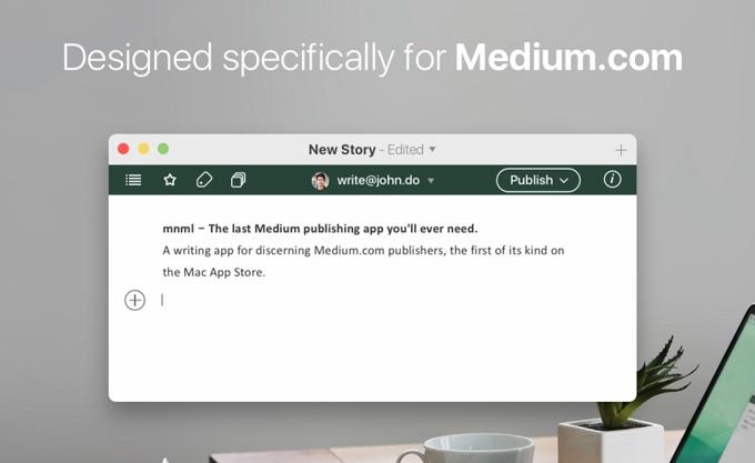 Mac用MediumエディタMNMLの紹介