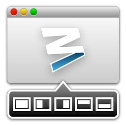 Mac用ウィンドウマネージャ「Moom」のアイコン。