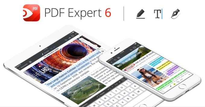 ReaddleのPDFエディタ「PDF Expert 6」の新機能。