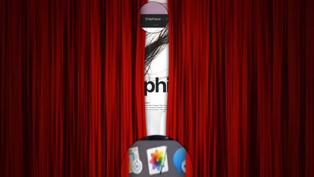 Pixelmator Teamの新しいアプリ「Graphique」のSneak Peak画像。