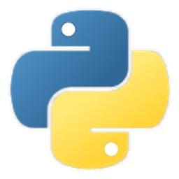 プログラミング言語Pythonのロゴ。
