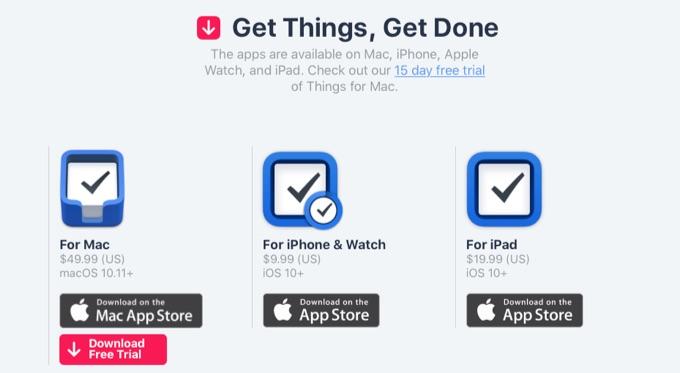 Things 3のリリース記念&ユーザー移行セール。