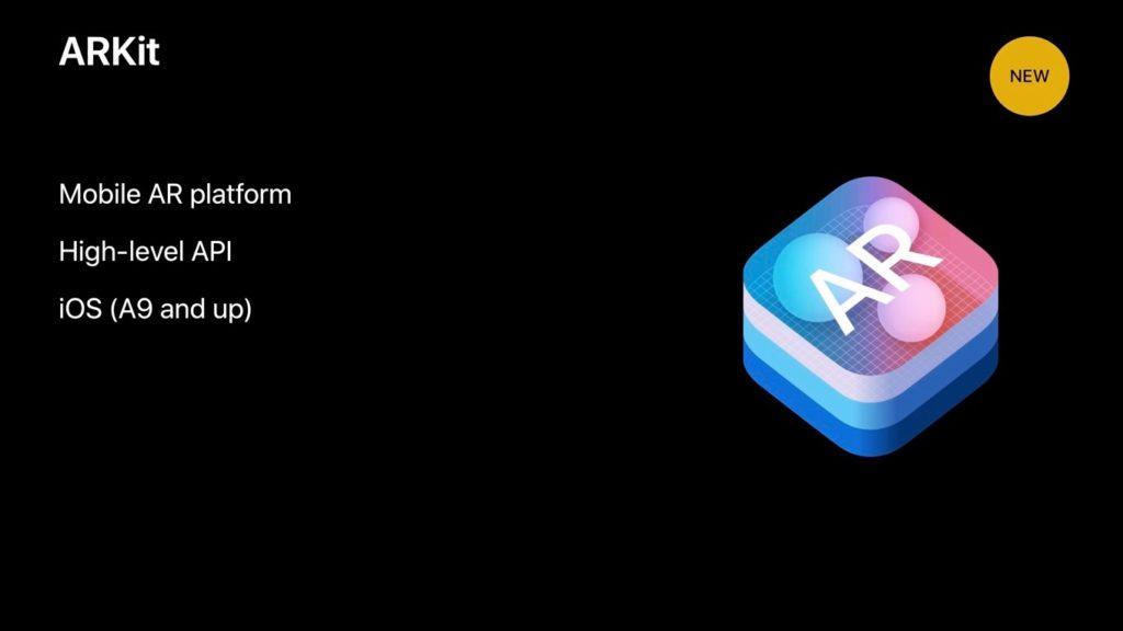ARKitはA9デバイス以上をサポート