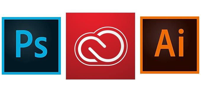 Adobe Creative Cloud 5周年記念キャンペーンのアイコン。