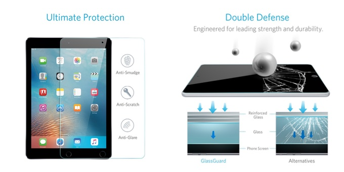 GlassGuard iPad Pro 10.5インチ用