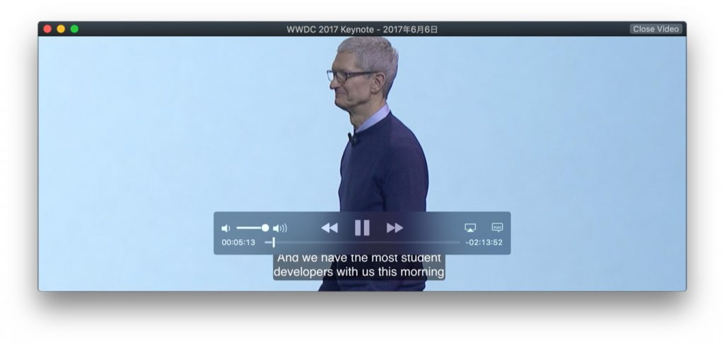 Apple Special Event. June 5, 2017の動画