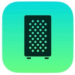 Apple eGPUのアイコン。
