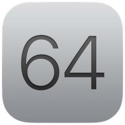 WWDC 2017で利用された64-bitアイコン。