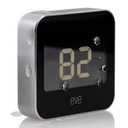 Elgatoの温湿計「Eve Degree」の外見。