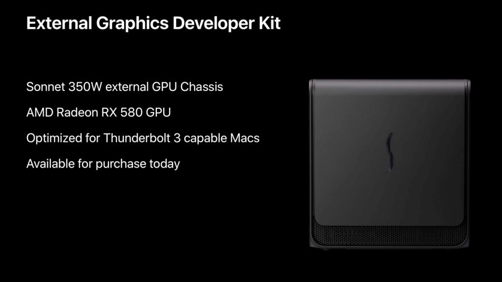 External Graphics Development Kit Release Notes v1.0