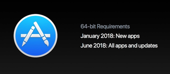 Mac App Storeで32bitアプリを廃止