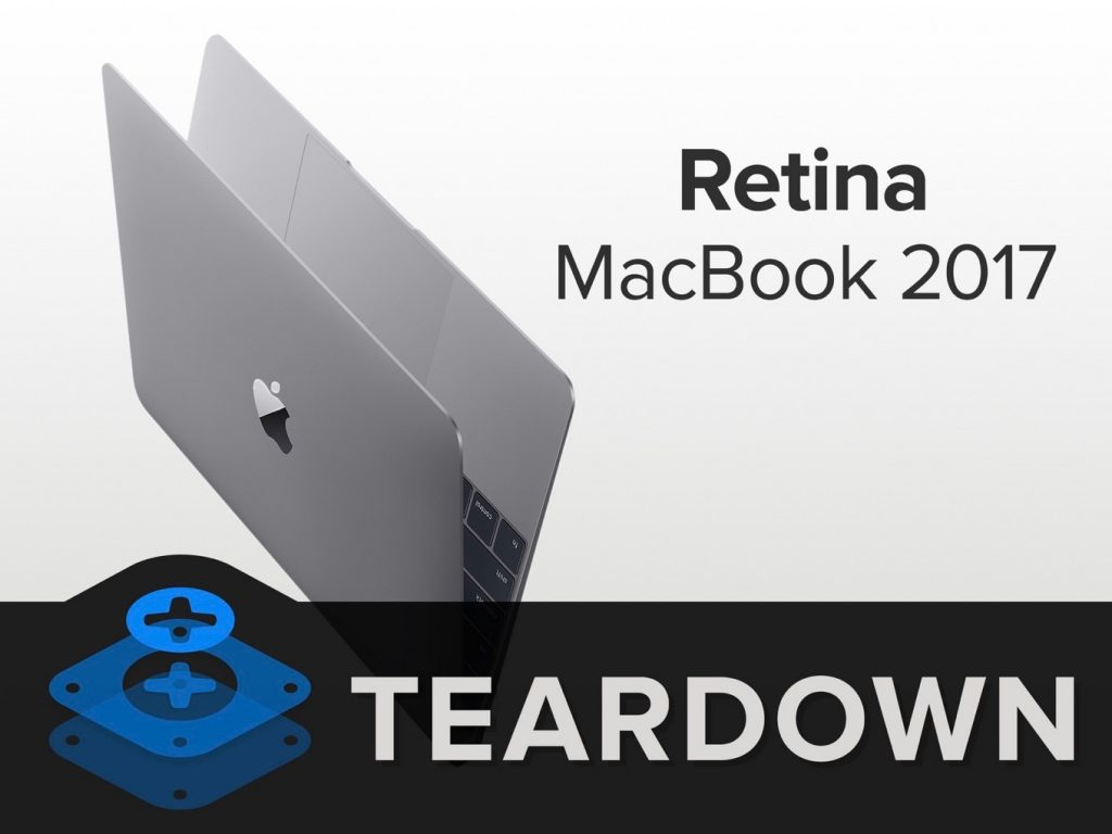 MacBook (Retina, 12-inch, 2017)のTeardown