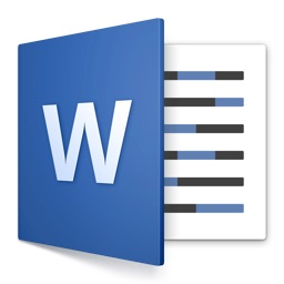 Microsoft Word for Macのアイコン。