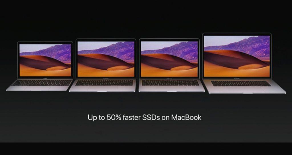 MacBook 2017のSSD