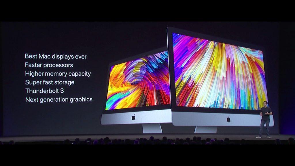 iMac 2017のスペック一覧。