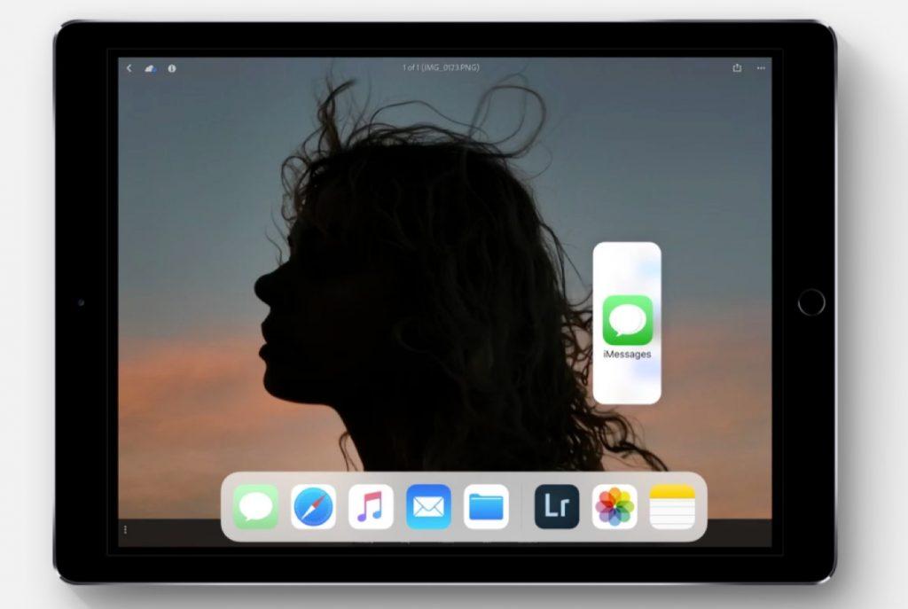 iOS 11のドラッグ&ドロップ機能。