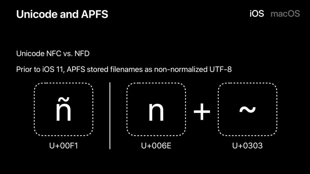 iOS11のNFCとNFD