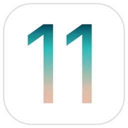 iOS 11のロゴ。