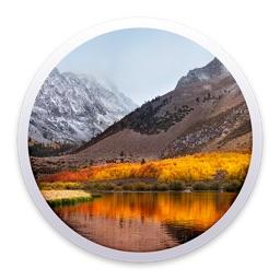 macOS 10.13 High Sierraのインストーラーアイコン。