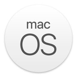 macOS 10.13 High Sierraのアイコン。
