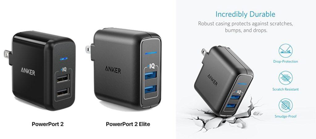 PowerPort 2 EliteとPowerPort 2の比較