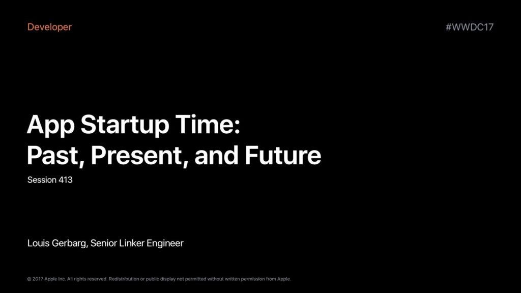 App Startup Time: Past, Present, and Future