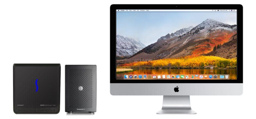 Dual eGPU support iMac