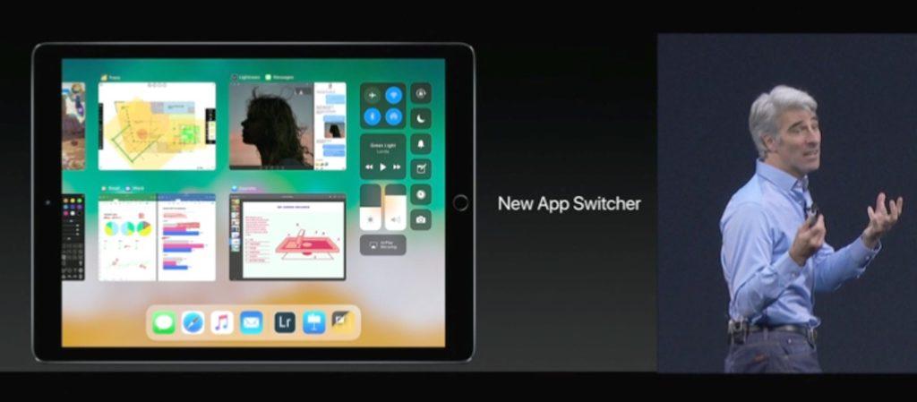 iOS 11 のアプリ切り替え機能