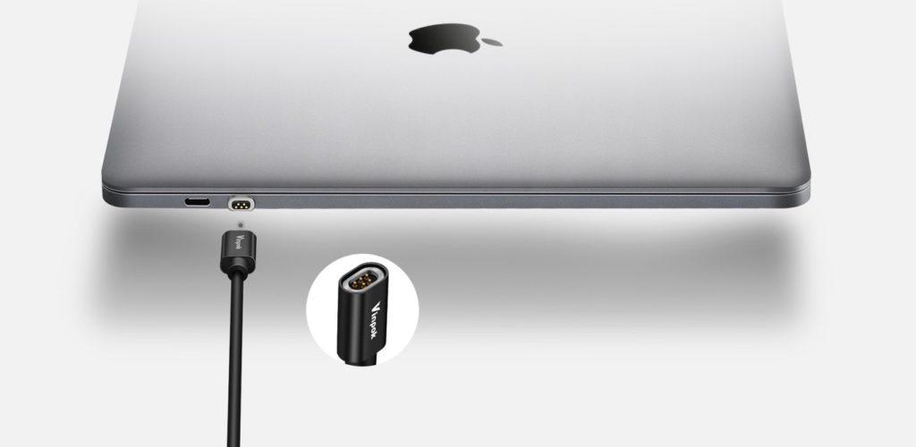 Vinpok、magsafeの様に着脱できるusb Cアダプタ「bolt S Magnetic Cable」を発表