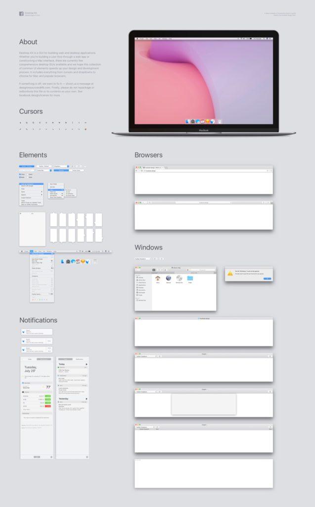 Facebookが公開したmacOSのDesktop Kitのエクスポート