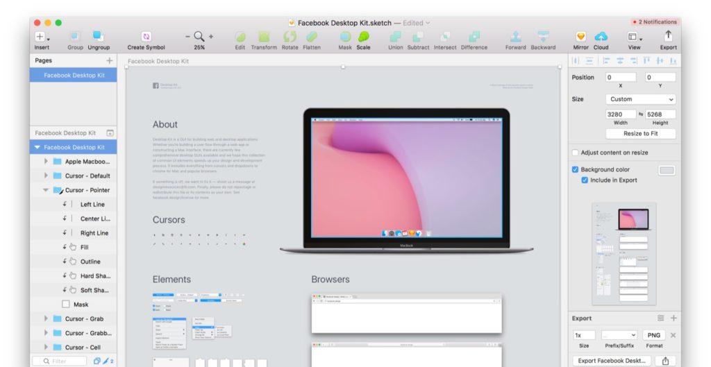 Facebookが公開したmacOSのDesktop Kit