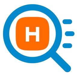 macOS用検索ユーティリティ「Haste」のアイコン。